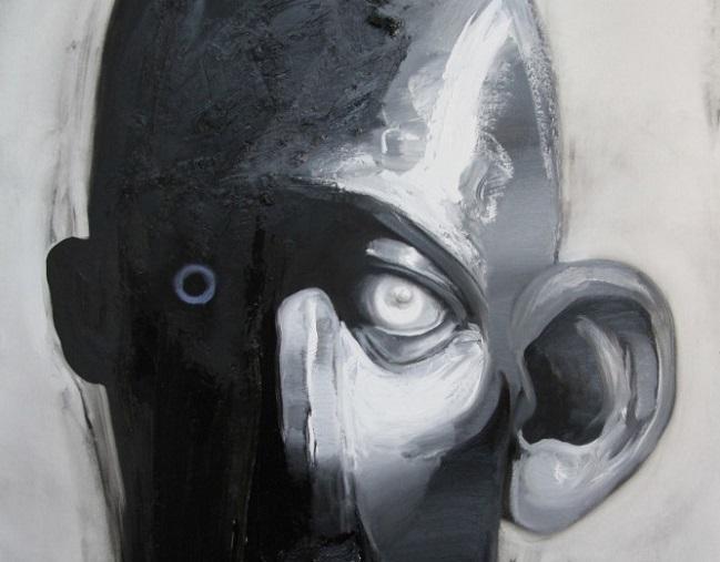 Obra de Ray Turner, de la serie 'Good man, bad man'.