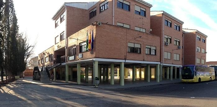 Colegio público Sierra Elvira, en Granada.