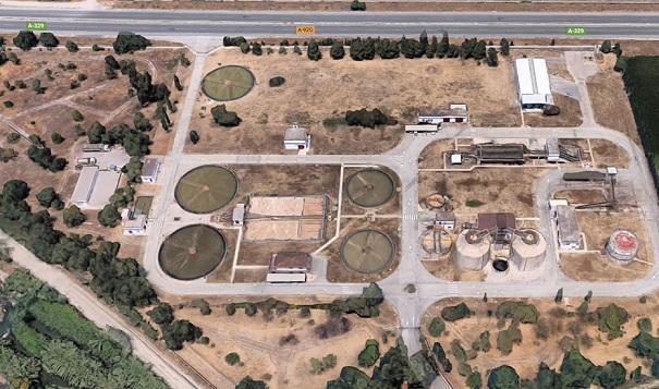 Estación depuradora de Los Vados.