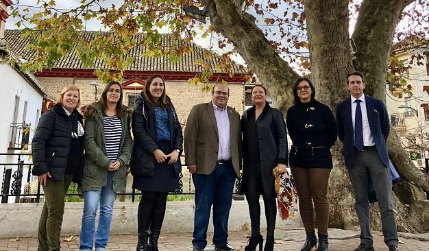 Visita de la consejera Carmen Crespo a Güéjar Sierra.