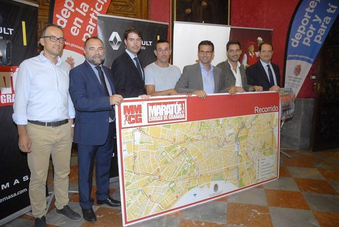 Presentación de la Media Maratón de Granada.