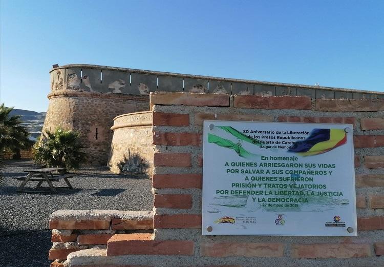 Fuerte de Carchuna, escenario de la operación de liberación de los prisioneros asturianos.