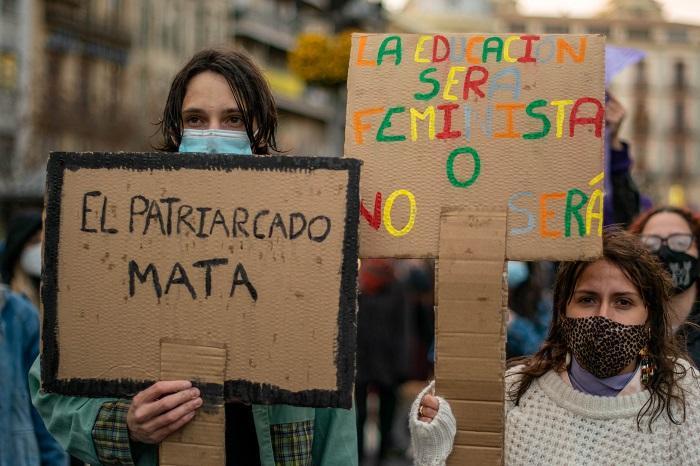 Imagen de la manifestacíon del pasado 8 de marzo.