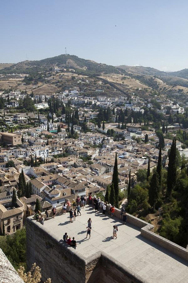 El Albaicín ha celebrado los 25 años como Patrimonio Mundial.