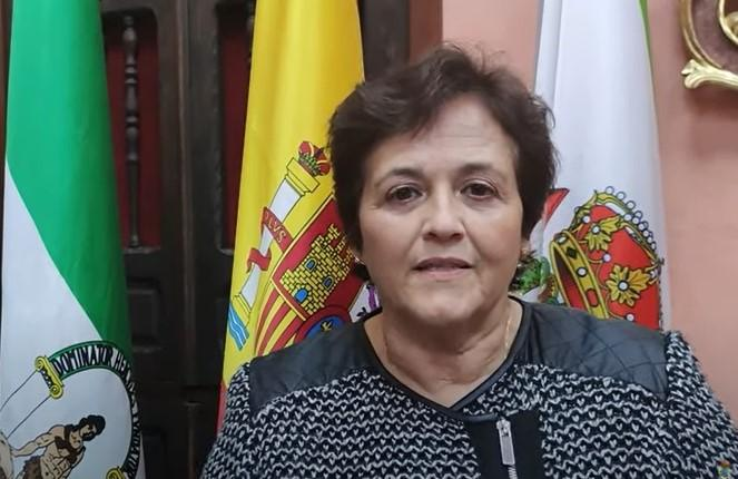 Soledad Martínez, alcaldesa de Huéscar.