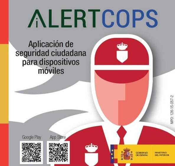 El vídeo fue recibido por la Policía a través de la aplicación AlertCops.