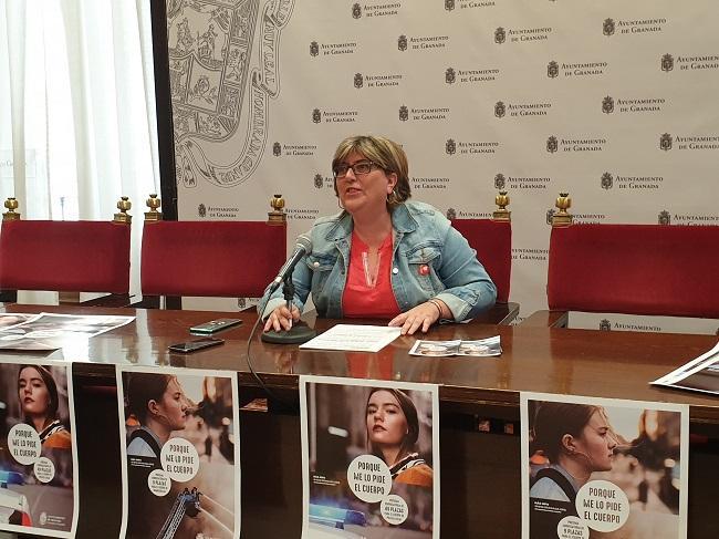 Ana Muñoz, este jueves, en la presentación de la iniciativa.
