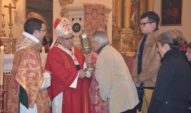 El arzobispo de Granada.
