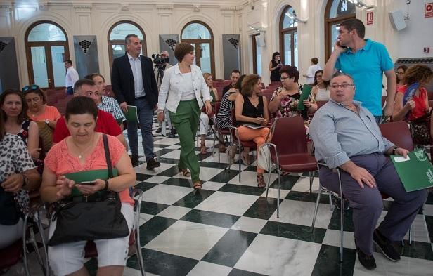 La Junta ha informado de las ayudas a representantes municipales.