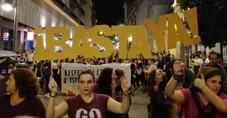 La marcha ha discurrido desde Plaza del Carmen a Plaza Einstein.