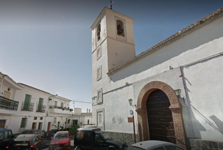 Iglesia de San Juan Bautista de Bérchules.