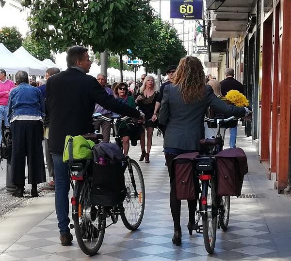 Imagen de una de las últimas celebraciones de los 'Domingos sin coche' en Recogidas.