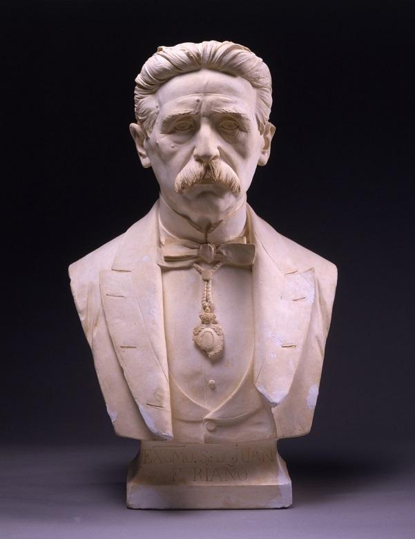 Busto de Juan Facundo Riaño, en la Academia de San Fernando.