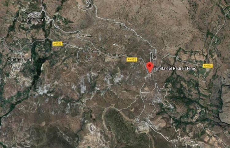 Zona donde ocurrió el accidente.