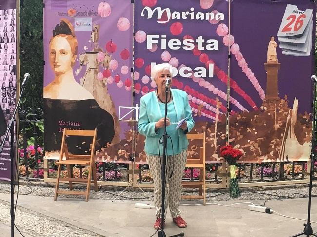 Carmen Caballos, en una imagen de archivo.