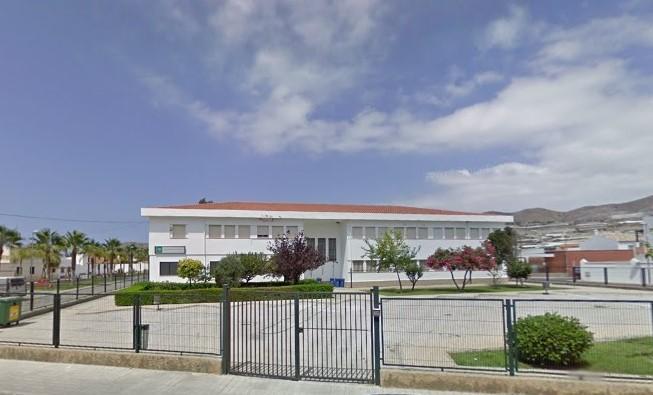 Instalaciones del centro educativo Sacratif, en Carchuna.