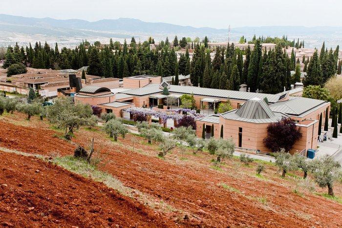 Vista del cementerio de san José.