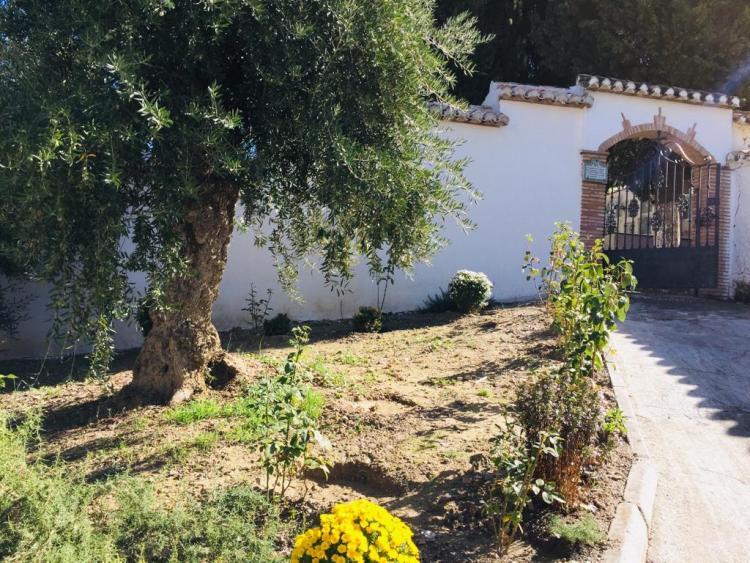 Exterior del cementerio de Pinos Genil, donde se llevarán a cabo los trabajos.