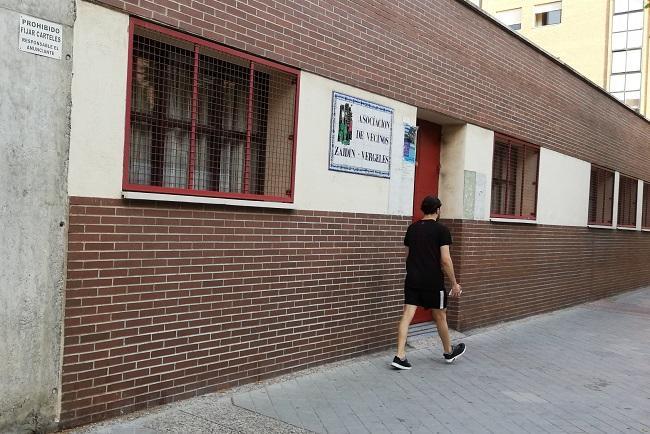 Dependencias de la Asociación de Vecinos del Zaidín en el Centro Cívico del barrio.