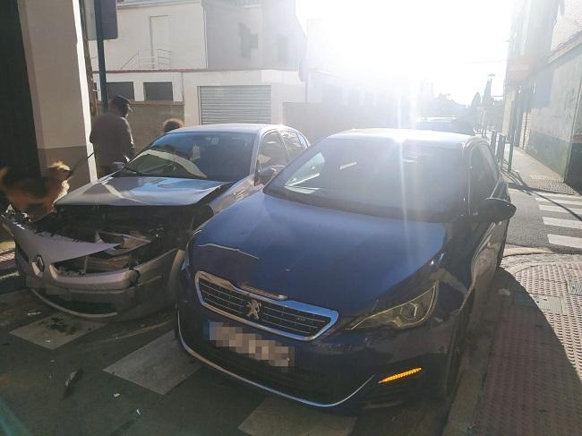 En el accidente resultaron heridas cuatro personas.
