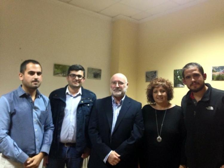Comisión de gobierno de la Mancomunidad de la Alpujarra.