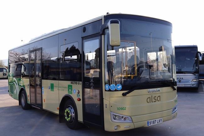 Autobús del Consorcio de Transporte Metropolitano de Granada.