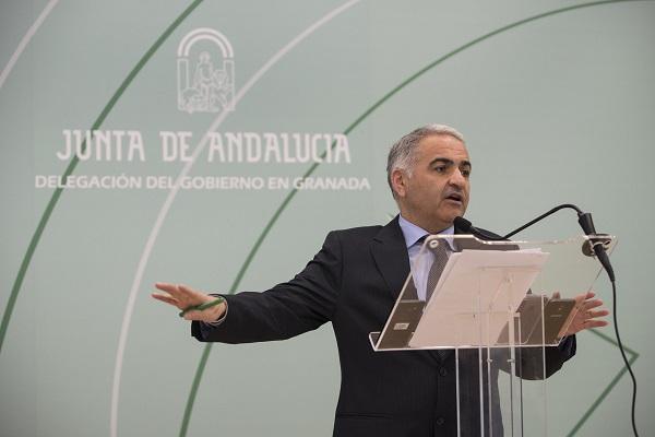 Antonio Jesús Castillo, la pasada semana en rueda de prensa.