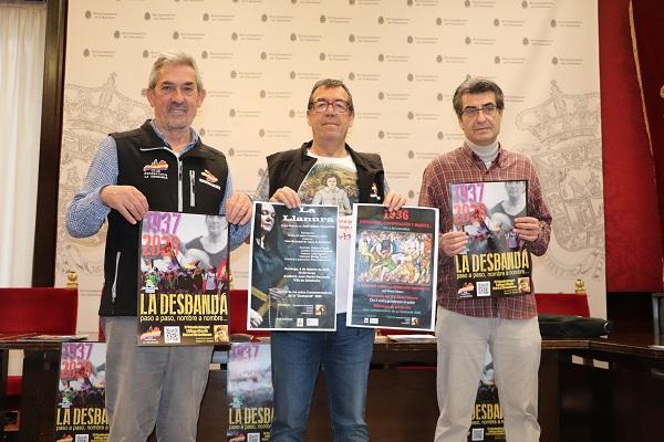 De izquierda a derecha, Rafael Morales, Isidoro Coello y Antonio Cambril.