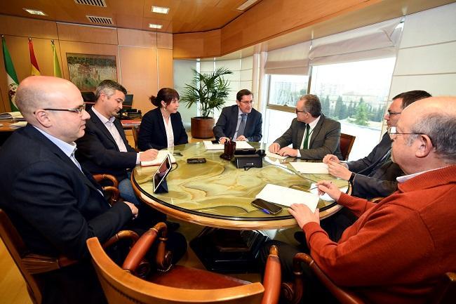 Reunión de los grupos de Diputación con Endesa.