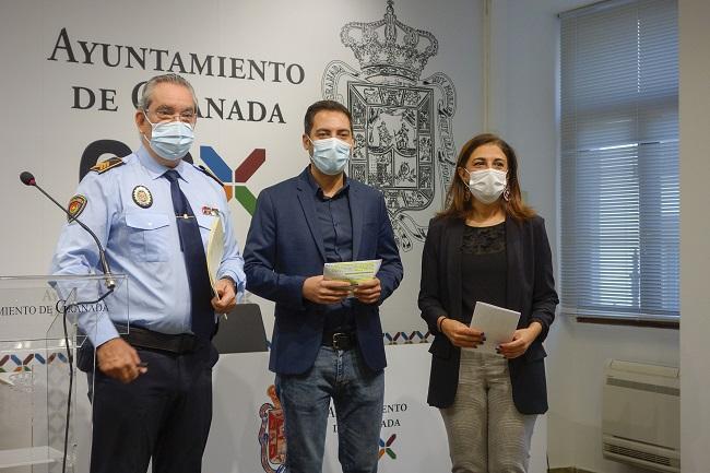 De izquierda a derecha, José Antonio Moreno, Eduardo Castillo y Raquel Ruz.