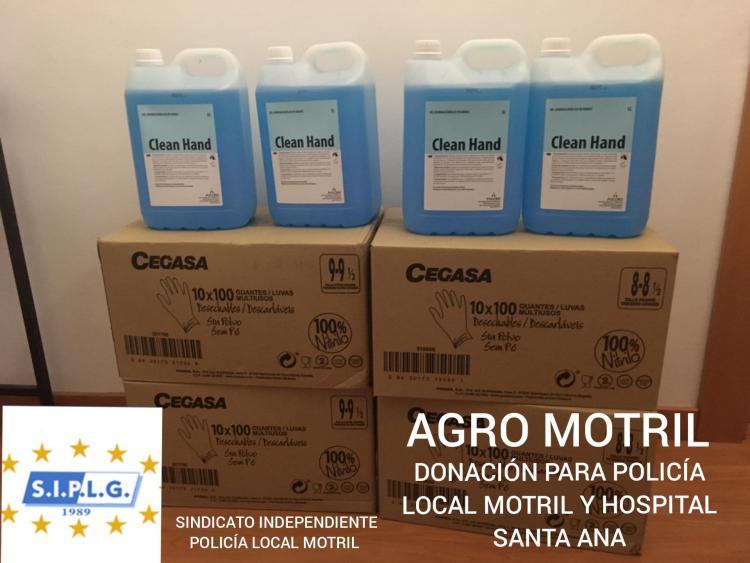 Material donado por Agro Motril.