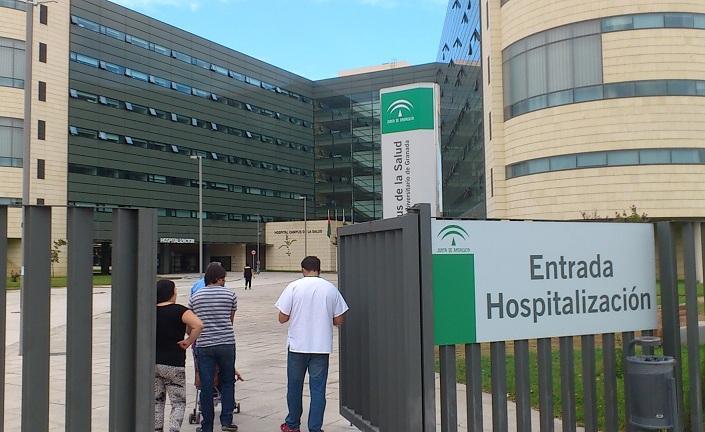 Una de las entradas al hospital del PTS.