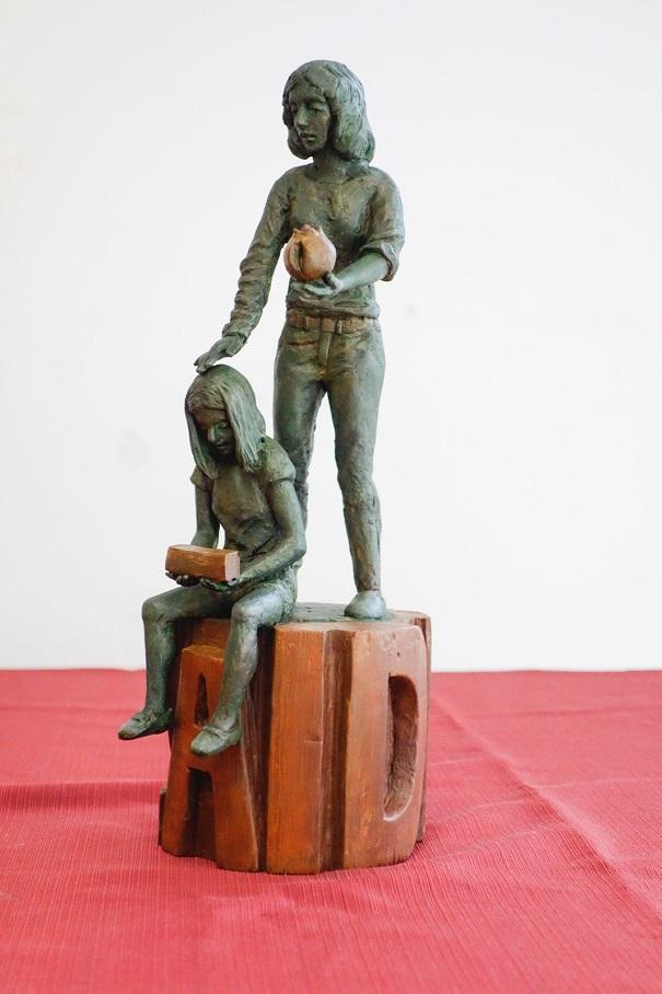 Obra ganadora que se instalará en la Plaza de la Hípica.