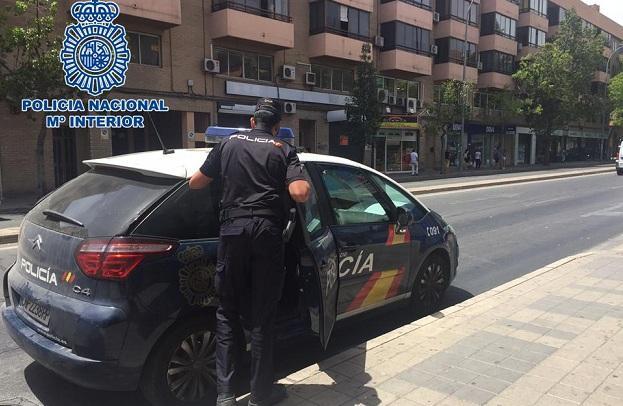 La Policía Nacional detuvo al atracador, que ya está en prisión.