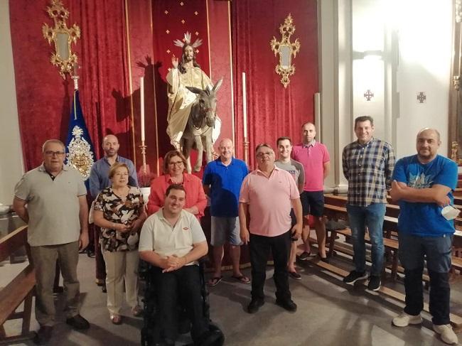 Foto de la comisión de trabajo.