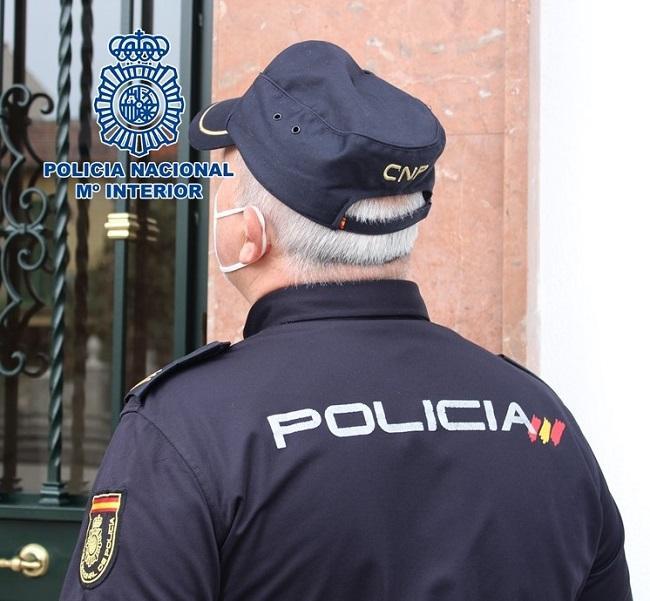 Imagen de recurso de un agente de la Policía Nacional.