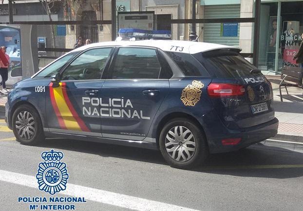Patrulla policial.