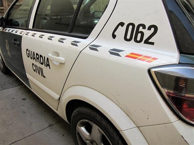 Guardia Civil, Bomberos y Policía Local y Emergencias acudieron al siniestro