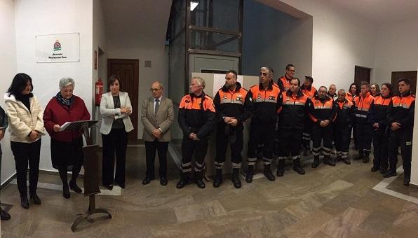 Acto de inauguración de la sede de Protección Civil de Órgiva.