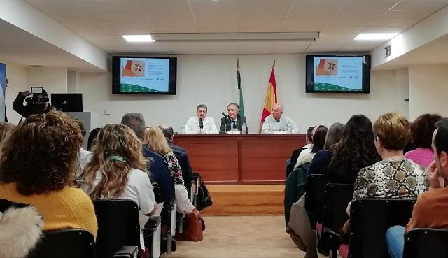 Acto de la Junta con ACCU Granada.