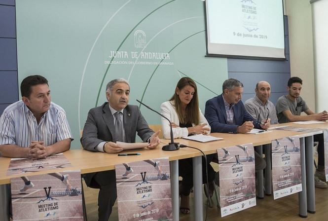Presentación del evento, con Ignacio Fontes y Sánchez Vargas, primero y segundo por la dcha.
