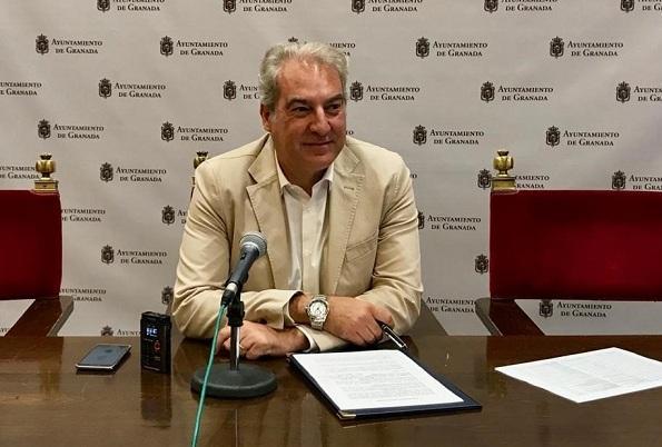 El concejal José Antonio Huertas.
