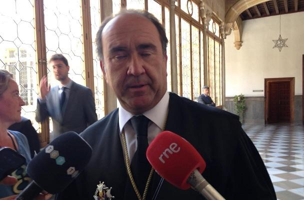 El nuevo presidente de la Audiencia Provincial, José Luis López Fuentes.