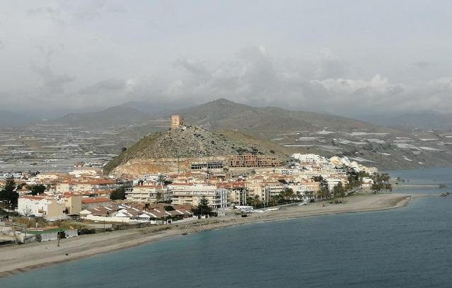 Vista de Castell de Ferro.