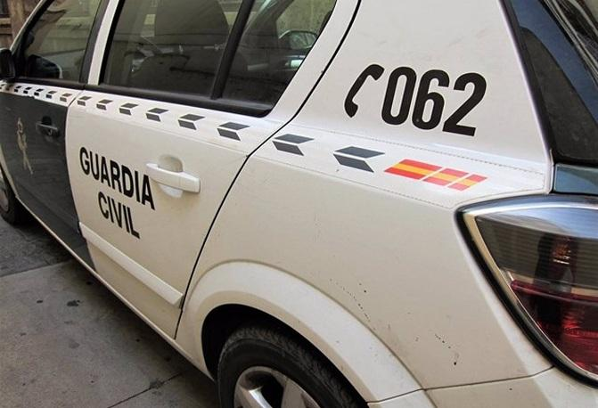 La Guardia Civil logró localizar al dueño del perro gracias a las colaboración ciudadana.