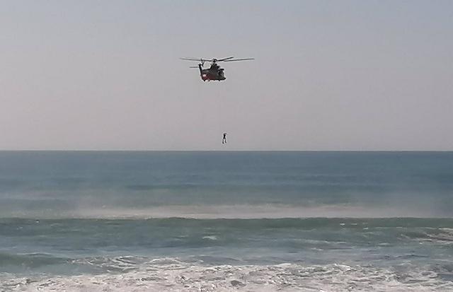 Un helicóptero Helimer de Salvamento Marítimo, en una imagen de archivo.