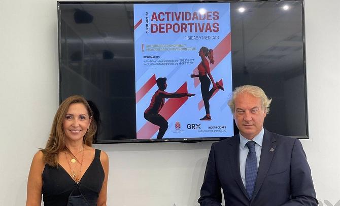 Presentación de las actividades deportivas municipales.