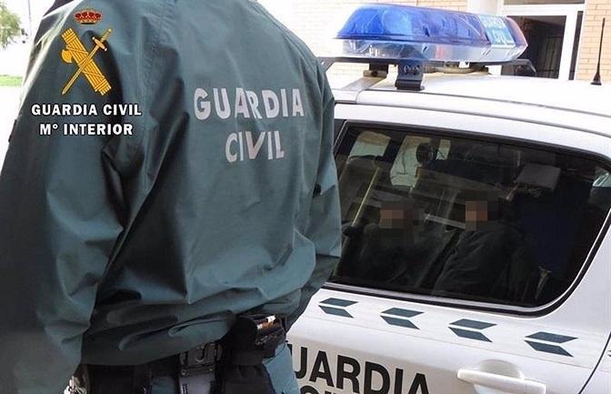 Los agentes detuvieron al ladrón en Albolote.