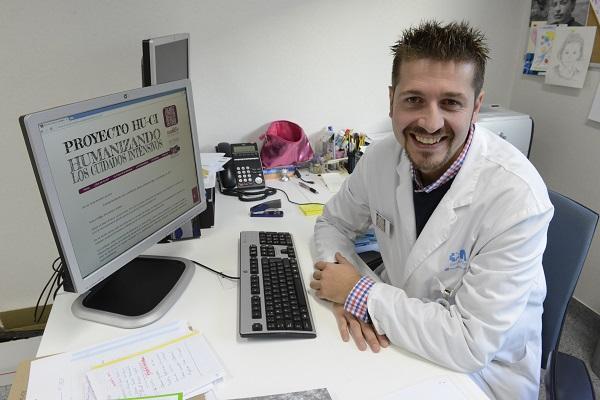 El doctor Gabi Heras.