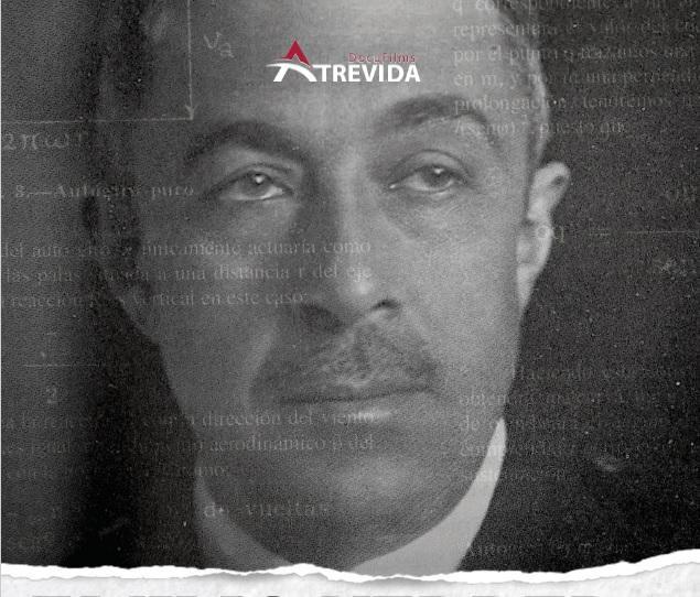 Cartel del documental Emilio Herrera.